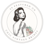 chic vintage bride badge 1