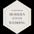 modern jewish wedd badge _As-Featured-On