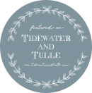 tidewater and tulle badge
